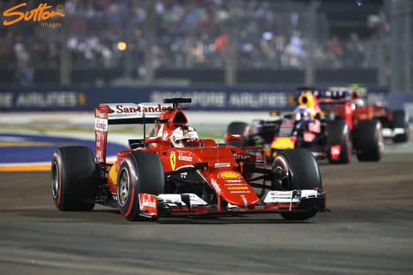 Sebastian Vettel Rewrites Formula 1 History Book With Win in Singapore Grand Prix