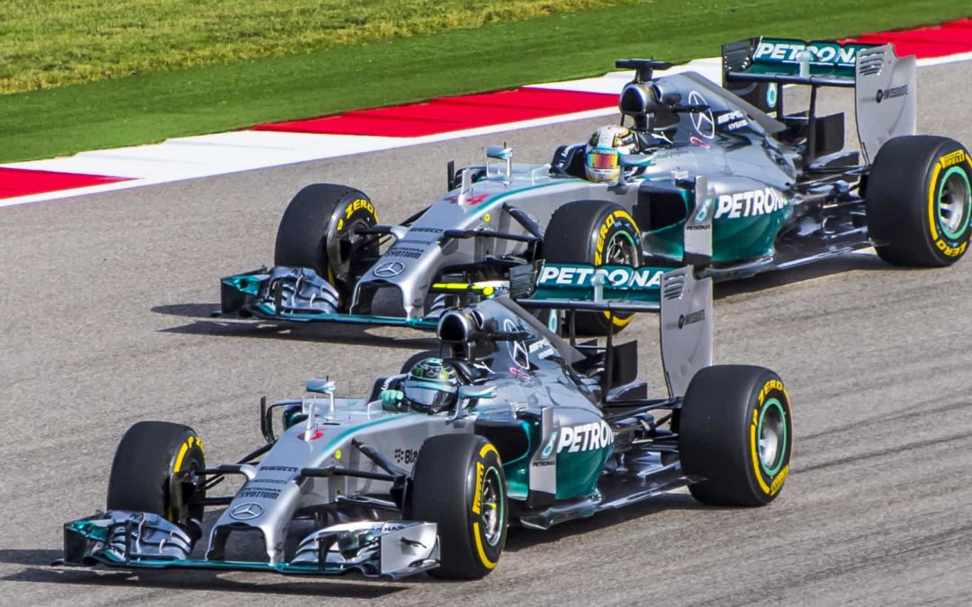 Formula 1: The Battle At The Sharp End Of The Field