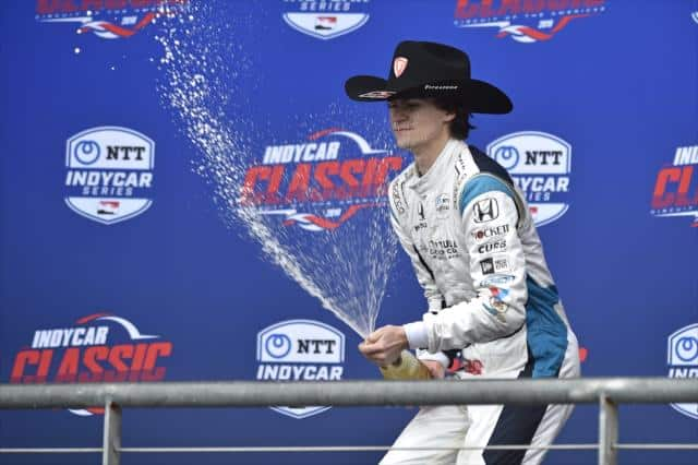 IndyCar's COTA Debut Highlights Stout Rookie Class