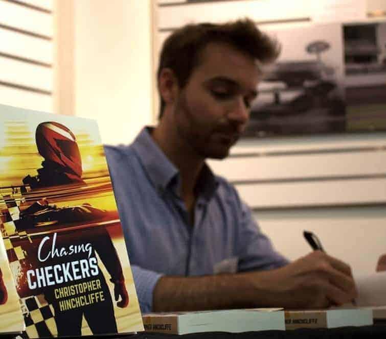 Author Chris Hinchcliffe, Texas, Montreal & Michigan