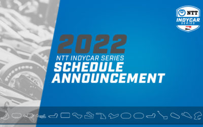 17-Race Schedule Announced for IndyCar in 2022