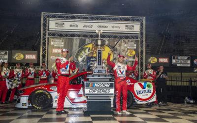 Kyle Larson Wins Wild NASCAR Cup Elimination Race at Bristol