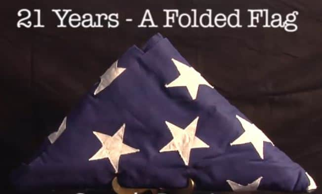 21 Years a Folded Flag – May 29th Preview