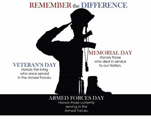 149 – Armed Memorial Veterans Day