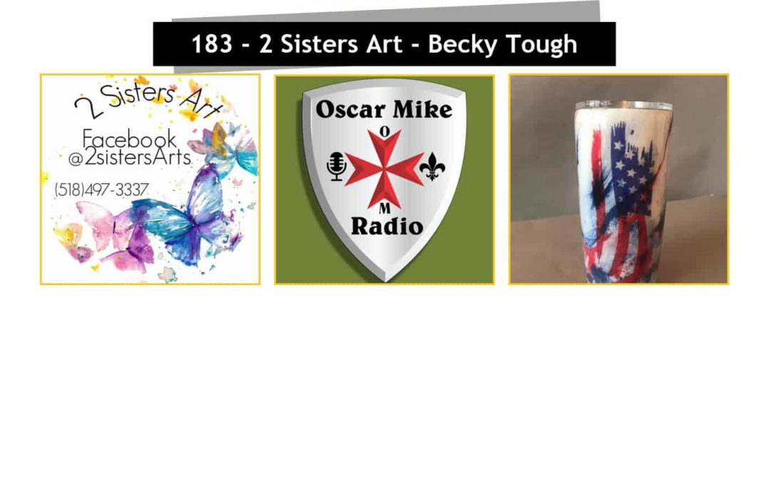 183 – 2 Sisters Art with Becky Tough