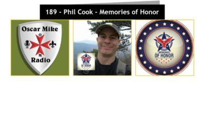 189 – Phil Cook – Memories of Honor & Bataan Memorial 2020