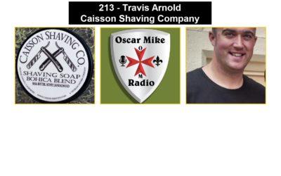 213 – Travis Arnold – Caisson Shaving Company