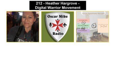 212 – Heather Hargrove – Digital Warrior Movement
