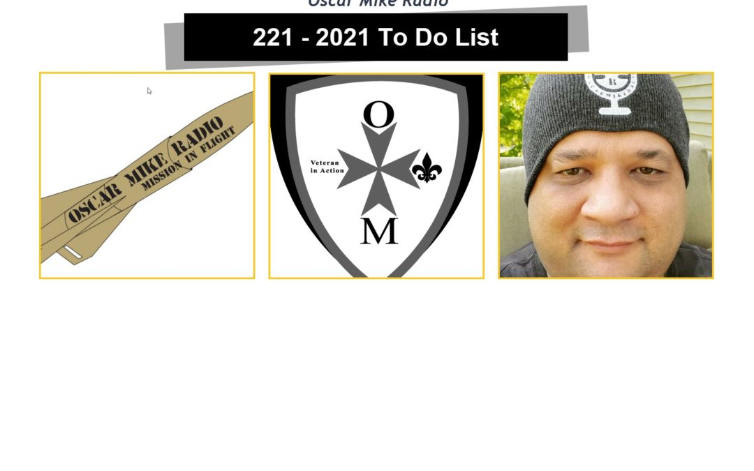 221 – 2021 To Do List