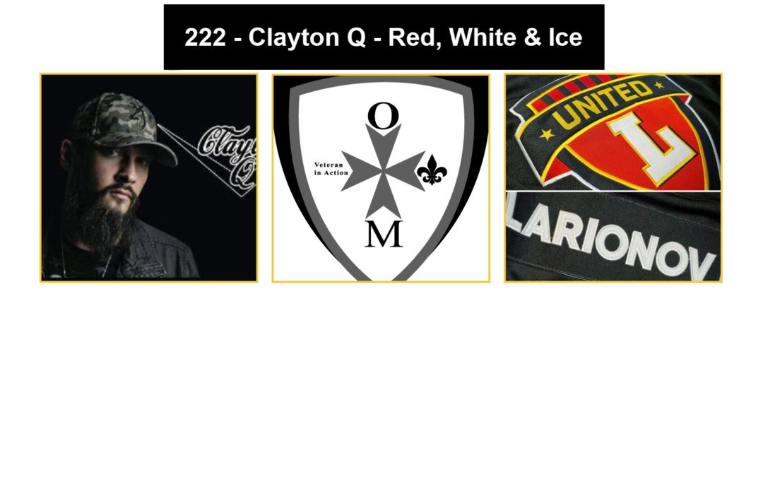 222 – Clayton Q – Red, White and Ice