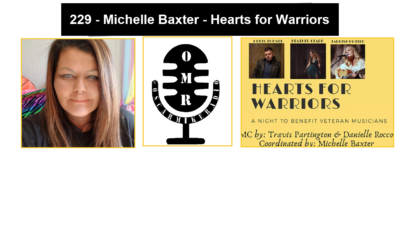 229 – Michelle Baxter – Hearts for Warriors