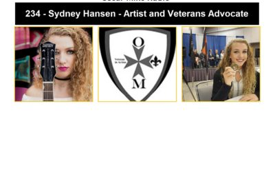 234 – Sydney Hansen – Artist and Veterans Advocate