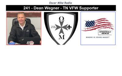 241 – Dean Wegner – Tennessee VFW Supporter