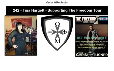242 – Tina Hargett – Supporting The Freedom Tour