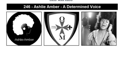 246 – Ashlie Amber – A Determined Voice