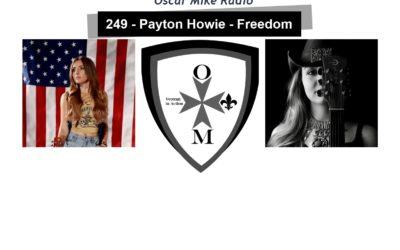 249 – Payton Howie – Freedom