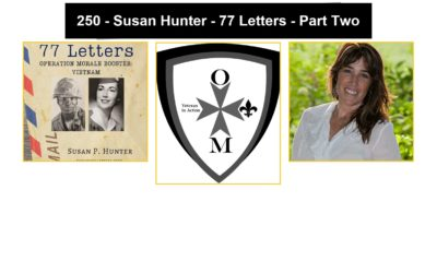 250 – Susan Hunter – 77 Letters – Part Two