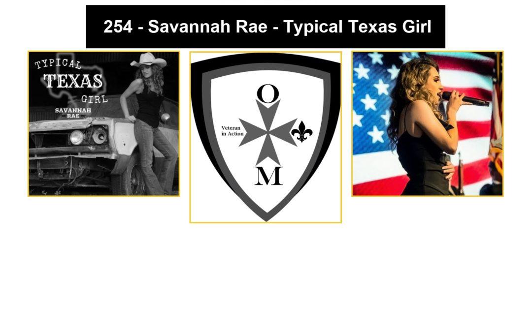 254 – Savannah Rae – Typical Texas Girl