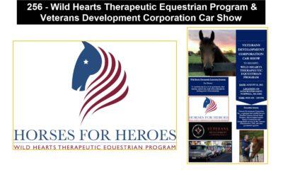 256 – Wild Hearts Therapeutic Equestrian Program & Veterans Development Corporation Car Show