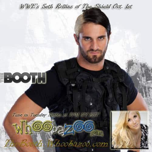 Live w/Nikki Preston – WWE's Seth Rollins of the Shield
