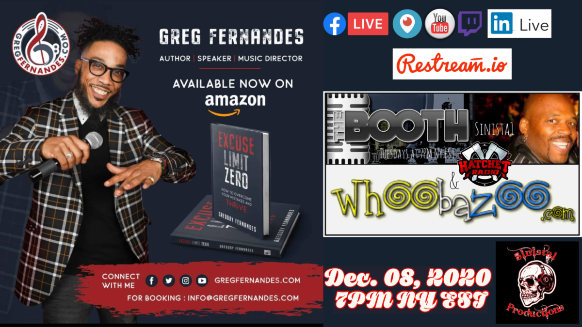 The Booth: Dec. 08, 2020 – Author Greg Fernandes